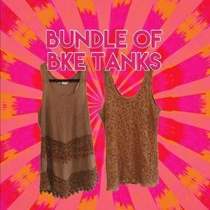 Bundle of BKE tanks!!